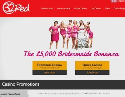 Bridesmaids Slot Shines in New 32Red Promotion