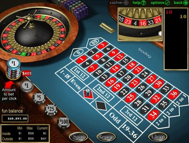American roulette game free play