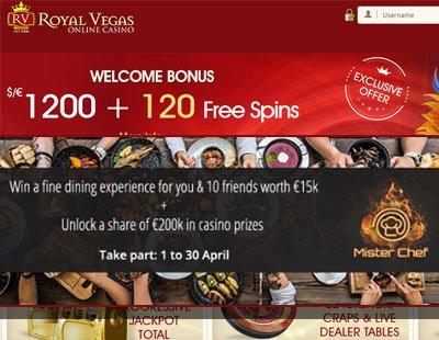 €200K in Prizes at Royal Vegas Casino