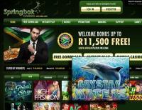 Shark Freeroll at Springbok Casino