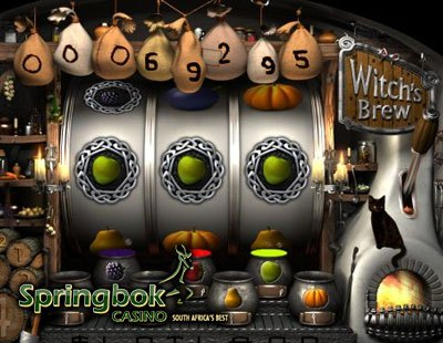 Witchs Brew Coming to Springbok Casino