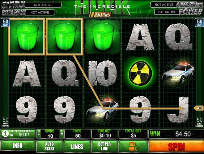 slot games hulk