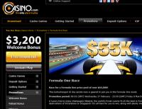 Formula One Fun at Casino.com