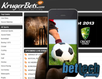 South African Bettors to Have Mobile Access Through KrugerBets.com