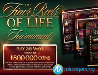 Microgaming Creates Tournament Slot out of The Finer Reels of Life