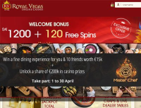 Royal Vegas Casino Hosts Mister Chef Promotion