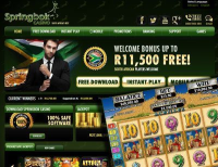 Springbok Casino Offers Free Spins for September