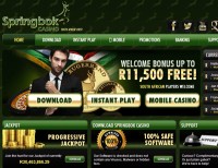 Win a Share of R10,000 At Springbok Casino