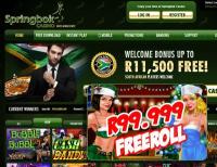 Springbok Casino Hosts Huge December Freeroll