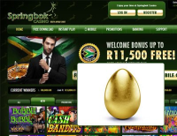 The Golden Egg Hunt at Springbok Casino