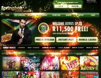 140 Valentine's Day Free Spins at Springbok Casino