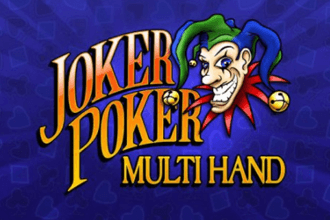 RTG Joker Poker Multi Hand Video Poker