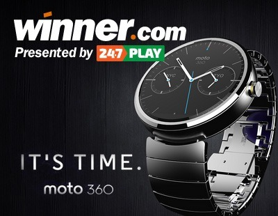 Moto 360 Smartwatch Up for Grabs